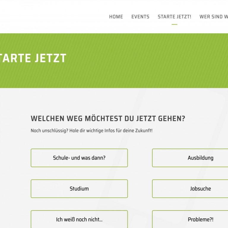 Website Meine Zukunft - Landkreis Stendal